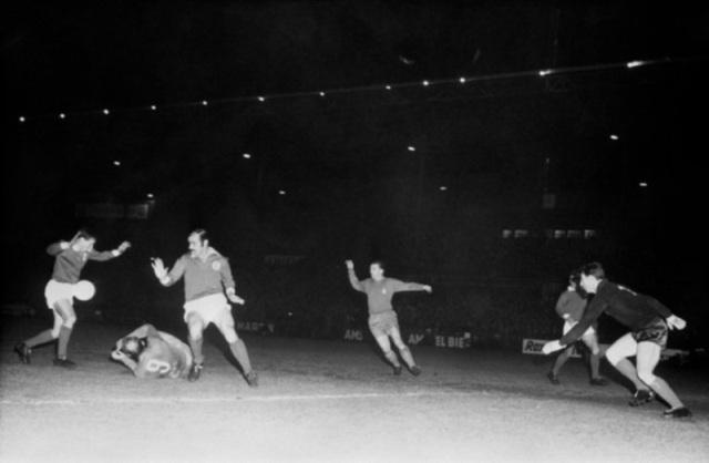 Istantanea da Benfica-Real Madrid in finale di Coppa dei Campioni 1962