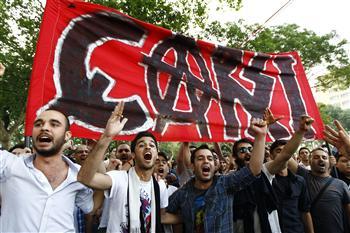 ultras Çarşı, sostenitori del Besiktas