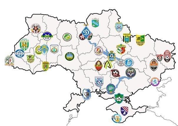 mappa del tifo in Ucraina
